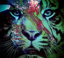 Tiger_8616 by AnkhaDesh
