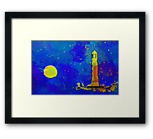 The Night Sentry Framed Print