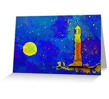 The Night Sentry Greeting Card