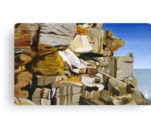 The Cliffs of North Bondi Canvas Print