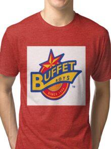 Buffet Boys Logo Tri-blend T-Shirt