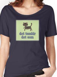 Cat dot tumblr dot com Women's Relaxed Fit T-Shirt