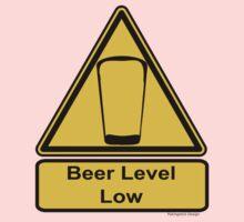 Beer Level Low Baby Tee