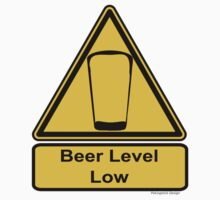 Beer Level Low One Piece - Short Sleeve
