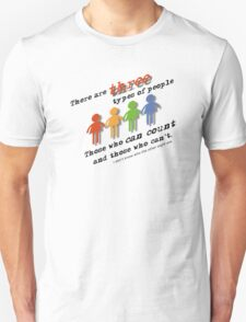 Three types of people T-Shirt