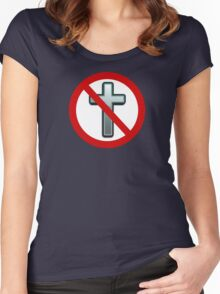 Ban Religion Women's Fitted Scoop T-Shirt