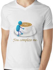 You complete me -- coffee Mens V-Neck T-Shirt