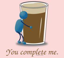 You complete me -- beer Kids Tee