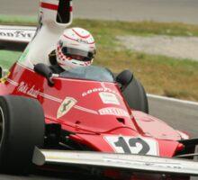 Ferarri 312T Monza 2009 Sticker
