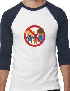 No Kids! Men's Baseball ¾ T-Shirt