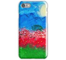 Through the Poppies. iPhone Case/Skin