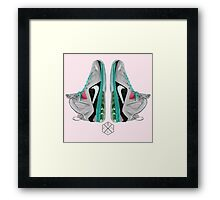 Lebron Polygonal art Framed Print
