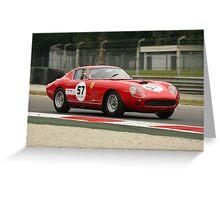 Ferarri 275 Monza Greeting Card