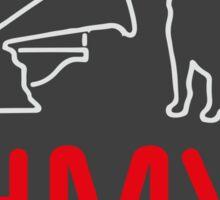 HMV Sticker