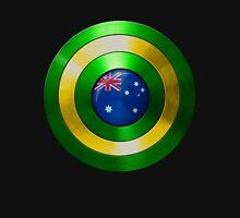 CAPTAIN AUSTRALIA - Captain America shield inspired Oz version Unisex T-Shirt
