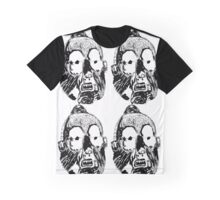 Dance Mask Graphic T-Shirt