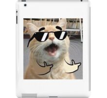 Cool Cat on it iPad Case/Skin