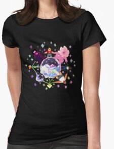 All Around The Cluster Womens Fitted T-Shirt