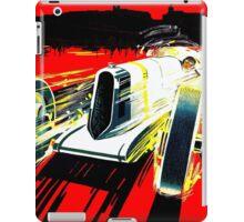 """MONACO GRAND PRIX"" Vintage Auto Racing Print iPad Case/Skin"