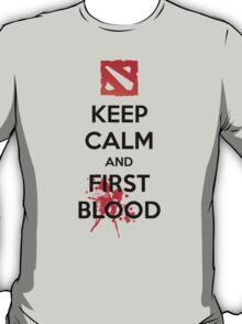 Keep Calm and First Blood T-Shirt