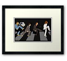 silly beatlewalk Framed Print