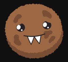 cute kawaii cookie monster face Baby Tee