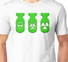Green ZOMBIE Bombs  Unisex T-Shirt
