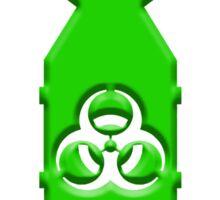 Green ZOMBIE Bombs  Sticker