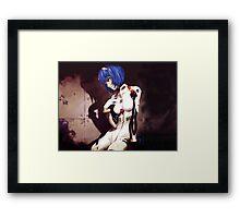 Neon Genesis Evangelion - Ayanami Rei ost cover Framed Print