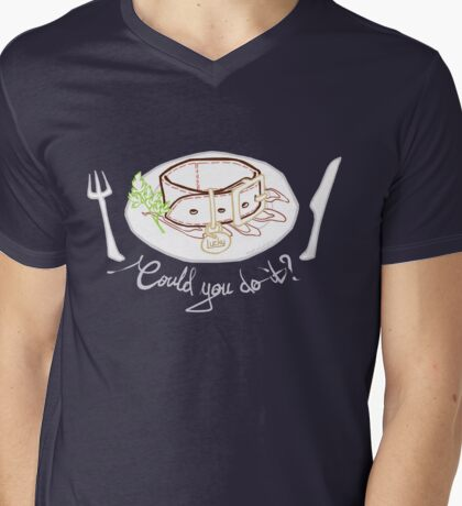Could you eat Lucky? Mens V-Neck T-Shirt