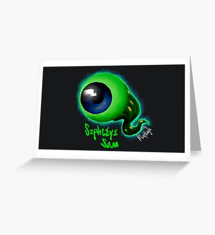 SepticEyeSam | JackSepticEye Greeting Card