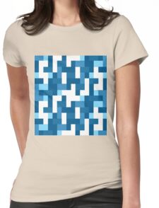 Geometric color Womens Fitted T-Shirt