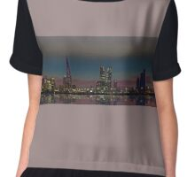 Bahrain Skyline Chiffon Top