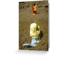 A Wave Greeting Card