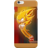 Super Sonic iPhone Case/Skin