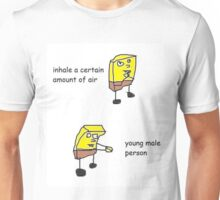 young male person Unisex T-Shirt