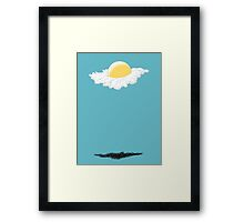 Fried Egg Rescue Bless this Sandwich Framed Print