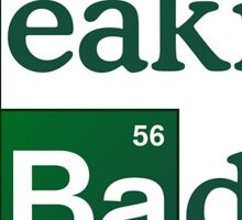 Breaking Bad - Logo Sticker