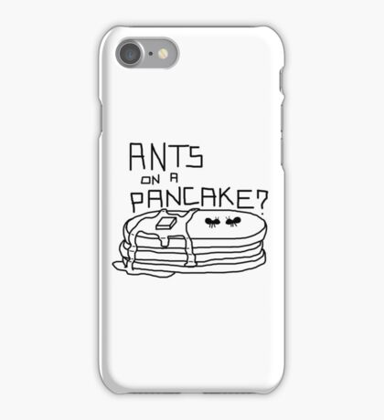 Ants on a Pancake iPhone Case/Skin