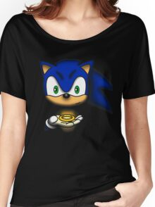 sonic  Women's Relaxed Fit T-Shirt