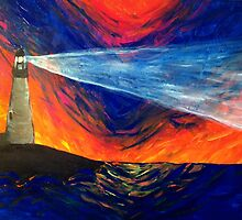 Searchlight Lighthouse by madisoncenter