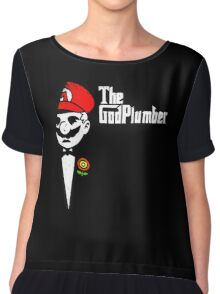 the godplumber Chiffon Top