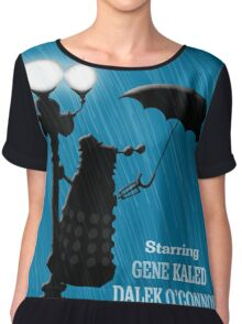 MusiKill in the Rain Women's Chiffon Top
