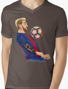 Neo Messi Mens V-Neck T-Shirt