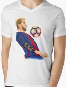 Neo Messi Mens V-Neck T-Shirt