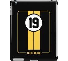 Cunningham Stripes - Yellow iPad Case/Skin