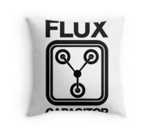 Flux Capacitor Throw Pillow