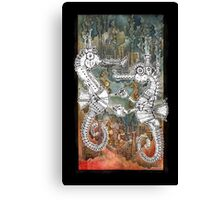 Seahorse Tango Canvas Print