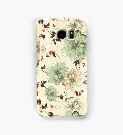 Flower Pattern Phone Case Samsung Galaxy Case/Skin