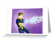 Iceman Greeting Card